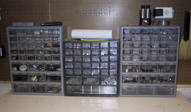 Lets see your workbench page 79 the garage journal board - Organizing nuts and bolts ...