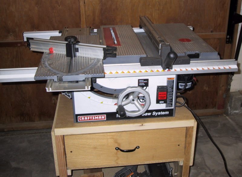 Table Saw Router Table Extension Plans Craftsman Table Saw Router