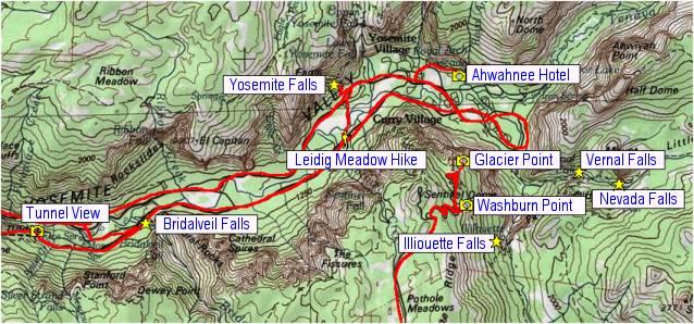 Yosemite Valley and Glacier Point on yosemite tourism map, yosemite park fire map, yosemite directions map, yosemite zoning map, yosemite camping map, yosemite land use map, yosemite services map, yosemite lodging map, yosemite roads map, glacier point yosemite map, yosemite valley map, yosemite trailheads map, yosemite things to do map, yosemite trails map, yosemite elevation map, yosemite topo map, yosemite south entrance map, yosemite parking map, yosemite national parks map, yosemite accommodations map,