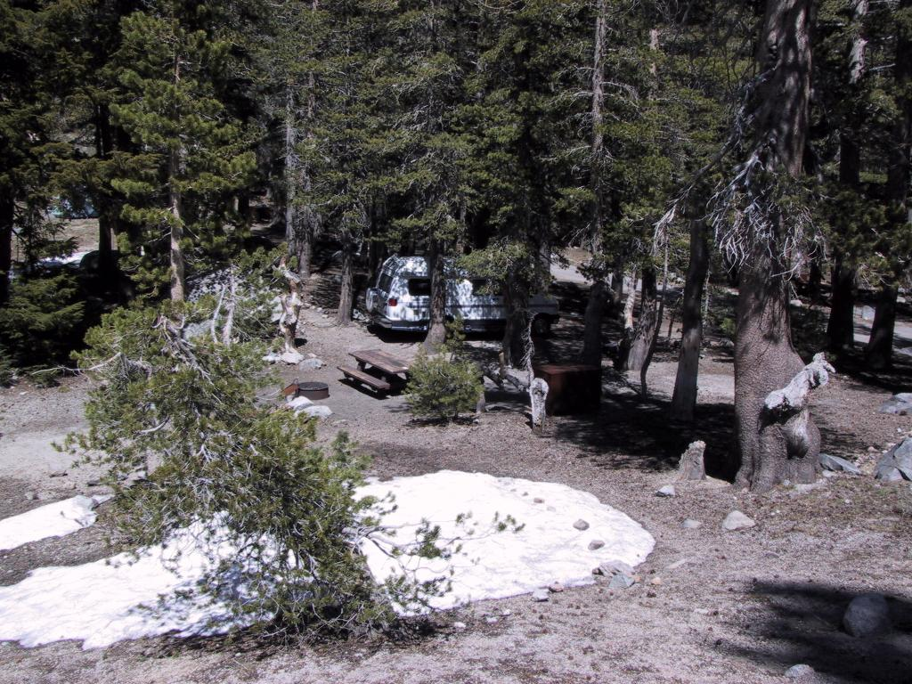 The Campsite in the Twin Lakes campground
